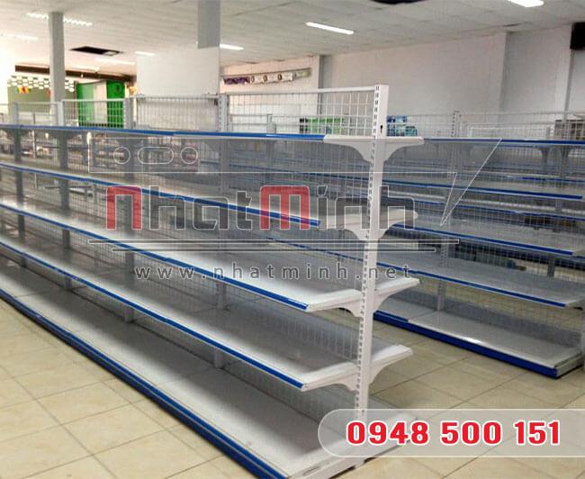 Giá kệ siêu thị đôi 5 tầng – NhatMinh.Net