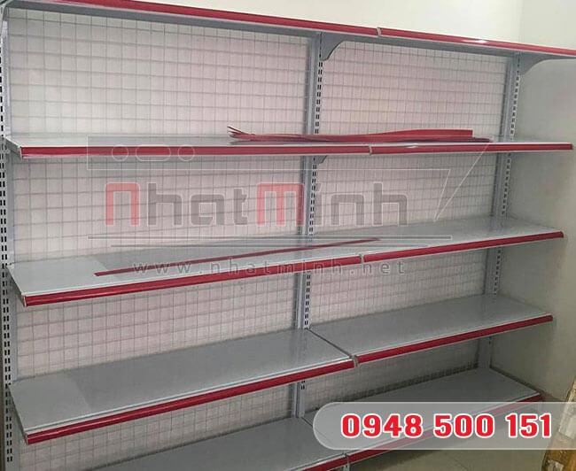 Giá kệ siêu thị đơn 5 tầng – NhatMinh.Net