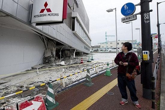 Mitsubishi Motor bị phá hủy