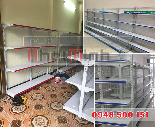 Giá kệ siêu thị thanh lý – NhatMinh.Net