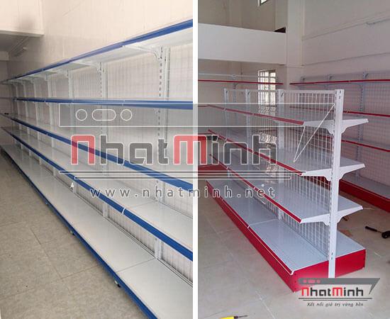 Giá kệ siêu thị nối tiếp - NhatMinh.Net