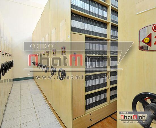 Giá kệ tài liệu Mobile Shelving – NhatMinh.Net