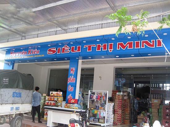 Mở siêu thị ở nông thôn