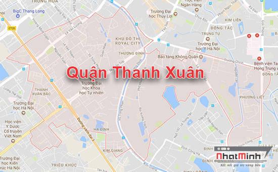 Lắp đặt giá kệ tại Thanh Xuân - Hà Nội
