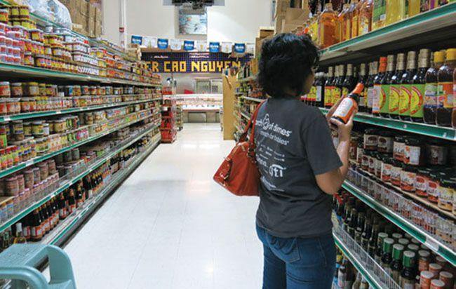 Tìm hàng trong siêu thị