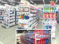 Chọn màu sắc giá kệ cho siêu thị