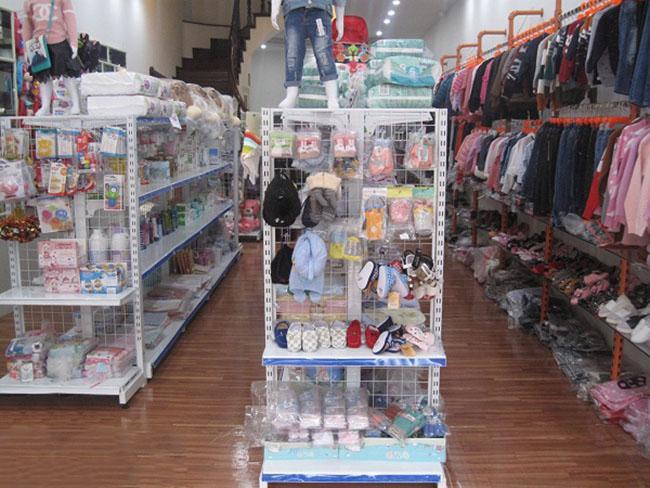 Kệ siêu thị cho cửa hàng mẹ và bé