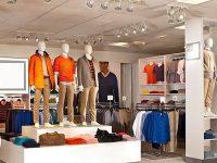 Giá kệ để hàng thời trang