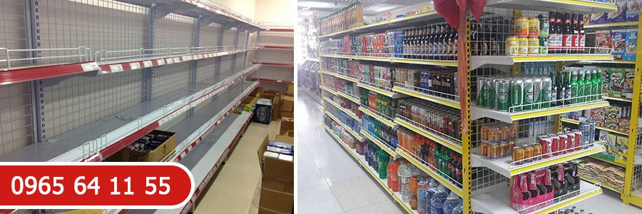 Kệ siêu thị cho cửa hàng bán lẻ
