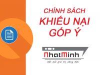 Chính sách khiếu nại, góp ý Nhật Minh