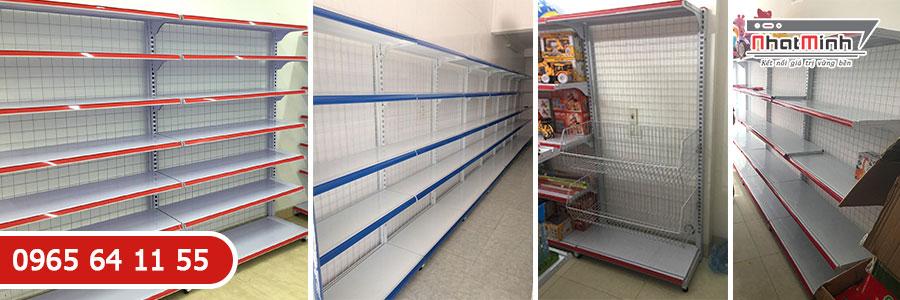 Giá kệ siêu thị đơn