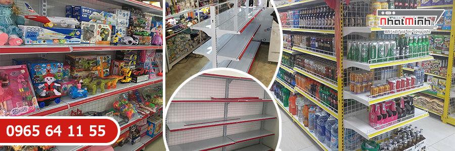 Giá kệ siêu thị nối tiếp